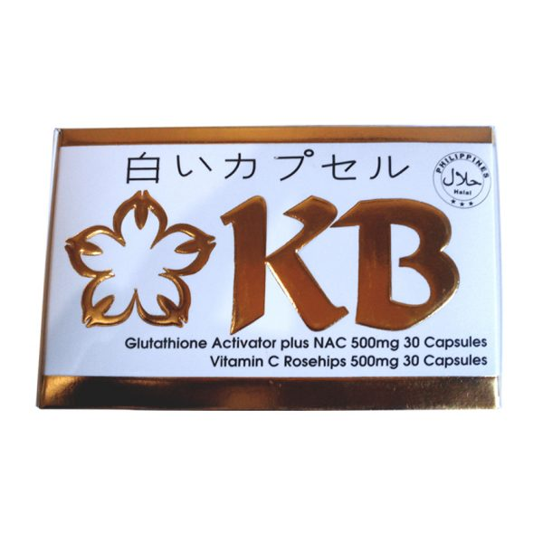 KB Glutathione Activator Plus NAC 500mg and Vitamin C Rosehips 500mg  Capsule 30's