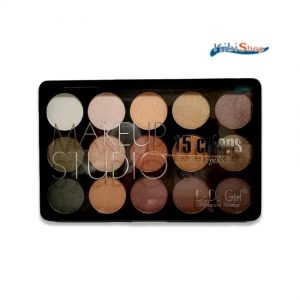15 Colors Make Up Palette and White EyeShadow