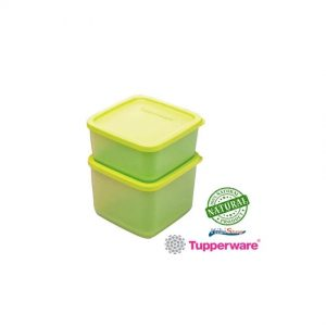 Tupperware Brands Square Rounds Yellow
